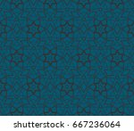 abstract repeat backdrop.... | Shutterstock .eps vector #667236064