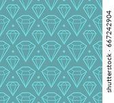abstract modern seamless... | Shutterstock .eps vector #667242904