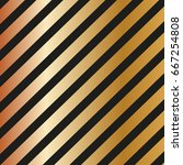 gold diagonal lines pattern on... | Shutterstock .eps vector #667254808