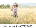 happiness  nature  summer... | Shutterstock . vector #667258603