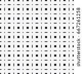vector seamless pattern. modern ... | Shutterstock .eps vector #667261258