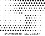 abstract halftone dotted... | Shutterstock .eps vector #667263154