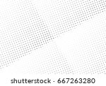 abstract halftone dotted... | Shutterstock .eps vector #667263280