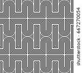 design seamless monochrome... | Shutterstock .eps vector #667270054