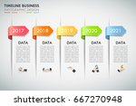 design infographic template 5... | Shutterstock .eps vector #667270948