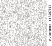 vintage seamless pattern.... | Shutterstock .eps vector #667287589