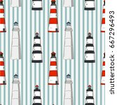 seamless vector pattern....   Shutterstock .eps vector #667296493
