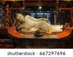 Reclining Buddha  Shanghai