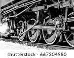 Steam Locomotive Close Up