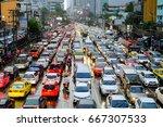bangkok thailand jun 20 2017 ... | Shutterstock . vector #667307533