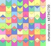 Vector Mosaic Seamless Pattern...