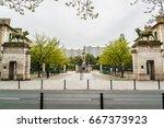 paris  france   april 25  2015  ...   Shutterstock . vector #667373923
