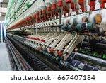 textile industry | Shutterstock . vector #667407184