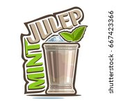 vector illustration of alcohol... | Shutterstock .eps vector #667423366
