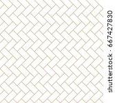 abstract geometric tile art... | Shutterstock .eps vector #667427830