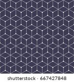 sacred geometry grid graphic... | Shutterstock .eps vector #667427848