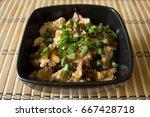 Japanese Cuisine. Oyakodon A...