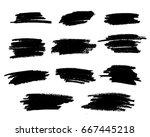 effect .abstract splattered  ... | Shutterstock .eps vector #667445218