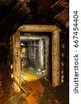 Small photo of Underground infrastructure of mine adit.
