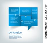 vector   speech bubble concept | Shutterstock .eps vector #667455649