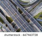 beautiful road traffic car... | Shutterstock . vector #667463728