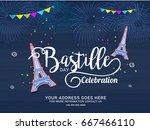 illustration card banner or... | Shutterstock .eps vector #667466110