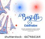illustration card banner or... | Shutterstock .eps vector #667466164