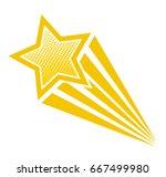 retro cartoon pop art comic... | Shutterstock .eps vector #667499980