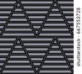 blocks wallpaper. repeated...   Shutterstock .eps vector #667553728
