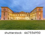 marseille palais du pharo night ... | Shutterstock . vector #667556950