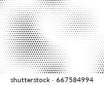 abstract halftone dotted... | Shutterstock .eps vector #667584994