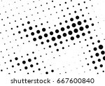 abstract halftone dotted...   Shutterstock .eps vector #667600840