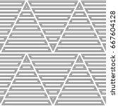 blocks wallpaper. repeated...   Shutterstock .eps vector #667604128