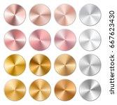 conical gradients of pink ...   Shutterstock . vector #667623430