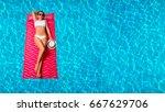 summer vacation. enjoying... | Shutterstock . vector #667629706