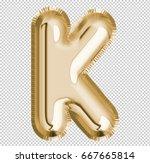 brilliant letter alphabet k... | Shutterstock . vector #667665814