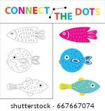 children's educational game for ... | Shutterstock .eps vector #667667074