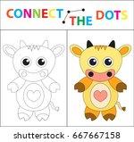 children's educational game for ... | Shutterstock .eps vector #667667158