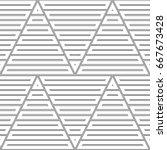 blocks wallpaper. repeated...   Shutterstock .eps vector #667673428