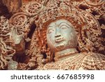 Face Of Shiva Lord Sculpture O...