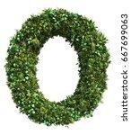 3d rendering of vertical garden ...   Shutterstock . vector #667699063