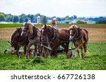 strasburg  pa   june 27  2017 ... | Shutterstock . vector #667726138