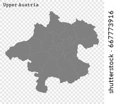 high quality map of upper... | Shutterstock .eps vector #667773916
