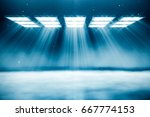 abstract background with light... | Shutterstock . vector #667774153