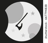 medieval battle axe icon.   Shutterstock .eps vector #667794838