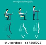 vector illustration. how to... | Shutterstock .eps vector #667805023