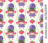 seamless colorful pattern with...   Shutterstock .eps vector #667814599