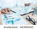 finances saving economy concept.... | Shutterstock . vector #667834183