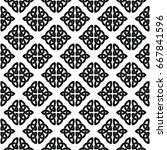 celtic national seamless...   Shutterstock .eps vector #667841596
