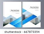 abstract flyer design...   Shutterstock .eps vector #667873354